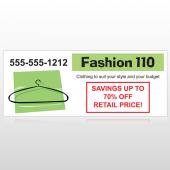 Fashion Hanger 526 Banner