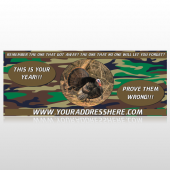Hunt Turkey 409 Custom Banner