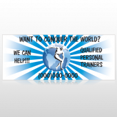 Man On Earth 406 Custom Banner