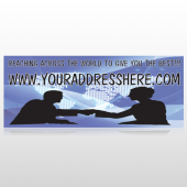 Map Silhouette 433 Custom Banner