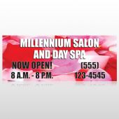 Millennium Spa 493 Custom Banner
