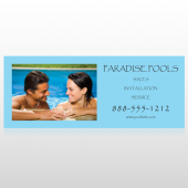 Paradise Pool 529 Banner