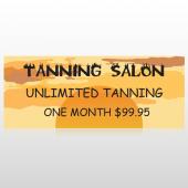 Tanning Sun 296 Custom Banner