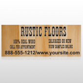 Wood Panel 248 Banner
