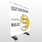 Construction 241 Exterior Pocket Banner Stand
