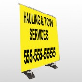 Hauling 127 Exterior Pocket Banner Stand