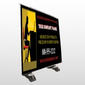 Office 149 Exterior Pocket Banner Stand