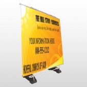 Sun Rays 165 Exterior Pocket Banner Stand