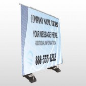 Finance Graph 175 Exterior Pocket Banner Stand