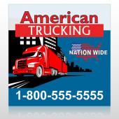 American Truck 295 Custom Sign