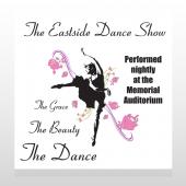 Ballet Dance 517 Custom Sign