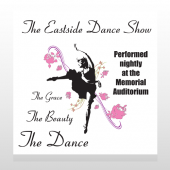 Ballet Dance 517 Custom Decal