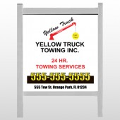 "Towing 125 48""H x 48""W Site Sign"