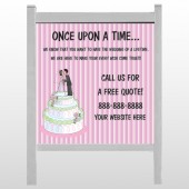 "Cake Topper 412 48""H x 48""W Site Sign"