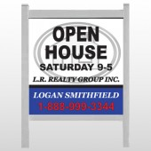 "House Emblem 857 48""H x 48""W Site Sign"