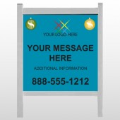 "Insurance 176 48""H x 48""W Site Sign"
