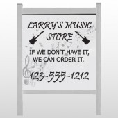 "Music 371 48""H x 48""W Site Sign"