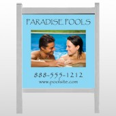 "Paradise Pool 529 48""H x 48""W Site Sign"
