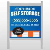 "Storage Building 120 48""H x 48""W Site Sign"