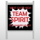 "Team 43 48""H x 48""W Site Sign"