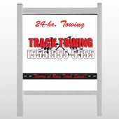 "Towing 126 48""H x 48""W Site Sign"