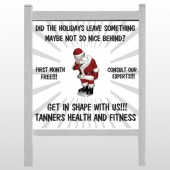 "Health Santa 402 48""H x 48""W Site Sign"