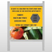 "Healthy Tomato 404 48""H x 48""W Site Sign"