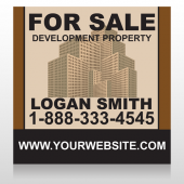 Brown Buildings 858 Site Sign