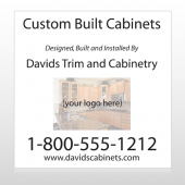 Cabinet 241 Custom Sign