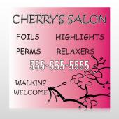 Cherry Salon 288 Custom Banner