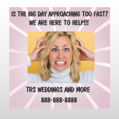 Crazy Wedding 411 Custom Decal