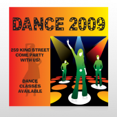 Dance Disco 518 Site Sign