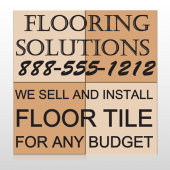 Flooring 247 Site sign