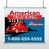 American Truck 295 Hanging Banner