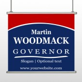 Governor 132 Hanging Banner