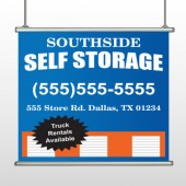 Storage Building 120 Hanging Banner