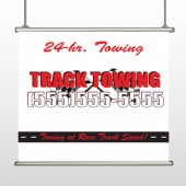 Towing 126 Hanging Banner