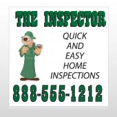 Inspector 361 Custom Sign