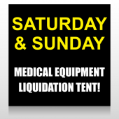 Medic Liquidation 331 Site Sign
