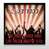 Night Club 523 Site Sign