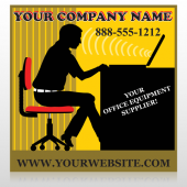 Office 149 Custom Sign