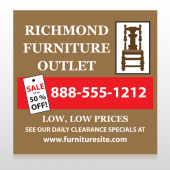 Outlet Chair 527 Sign