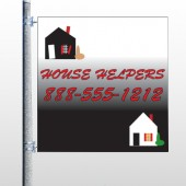 Househelper 245 Pole Banner