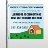 Hunting 301 Pole Banner
