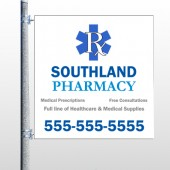 Pharmacy 103 Pole Banner