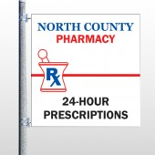 Pharmacy 101 Pole Banner