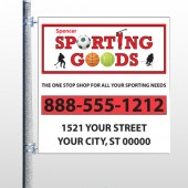 Sporting Goods 528 Pole Banner