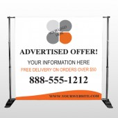 Advertised Offer 150 Pocket Banner Stand