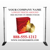 CD  And Graph 147 Pocket Banner Stand
