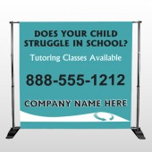 Classy Blue 160 Pocket Banner Stand